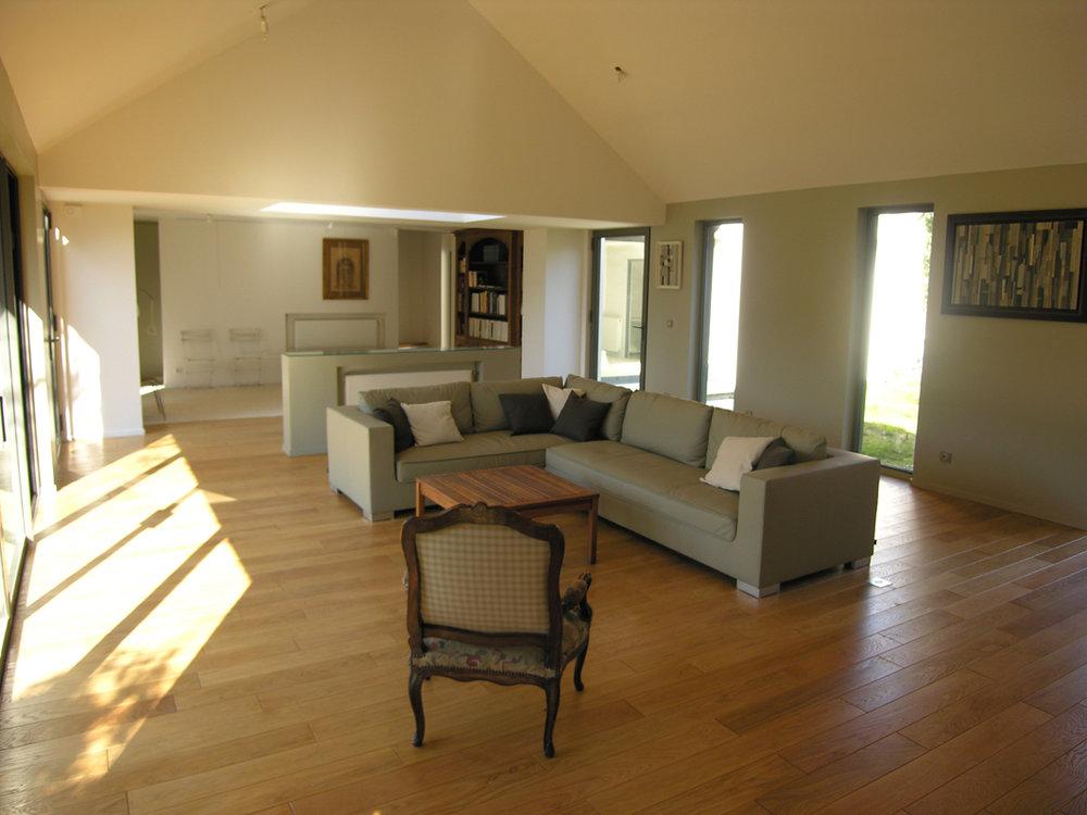 Atelier Prevost architectes - rehabilitation et extension d'une ancienne orangerie a l'isle adam