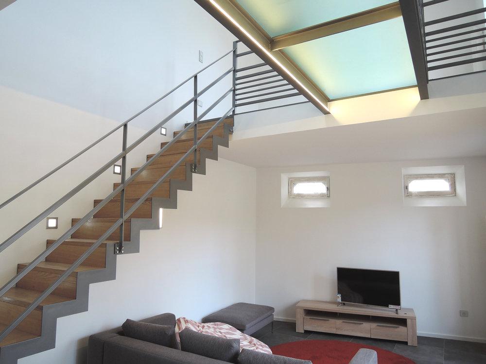 Atelier Prevost - Maison N réhabilitation d'une annexe en duplex
