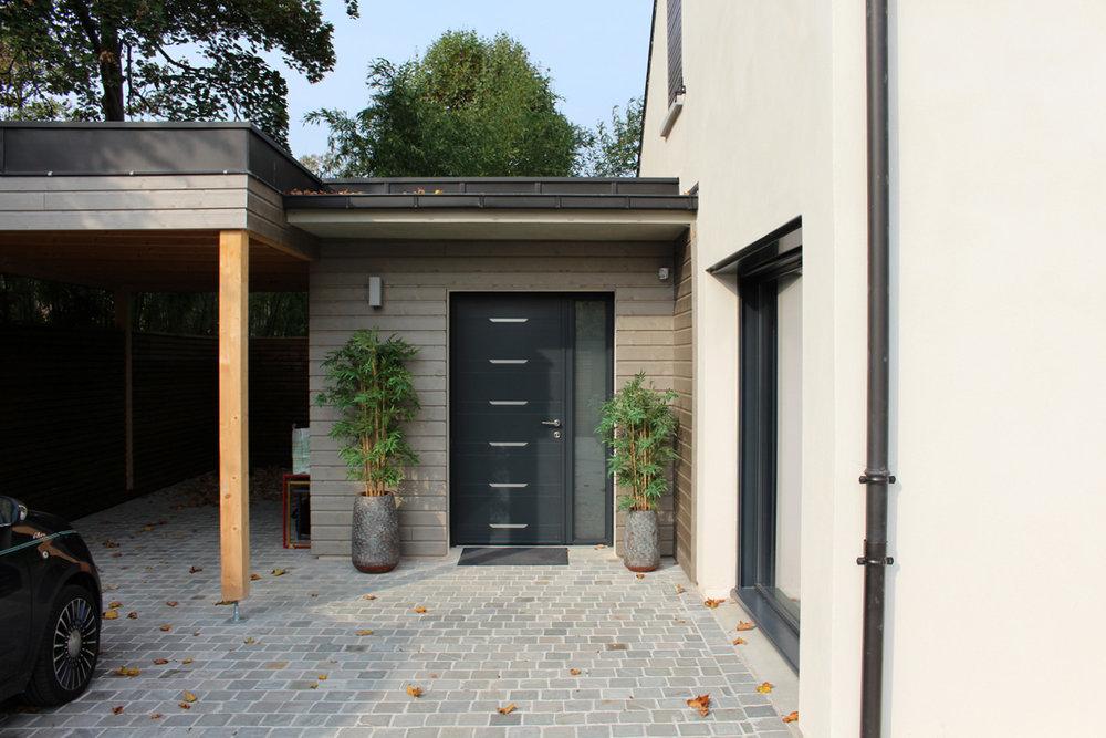 Atelier Prevost architectes - 2 maisons individuelles à l'Isle-Adam