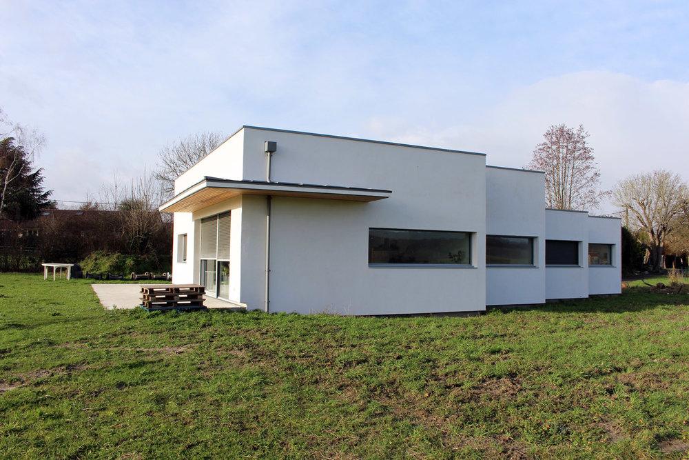 Construction d'une maison individuelle à Mours