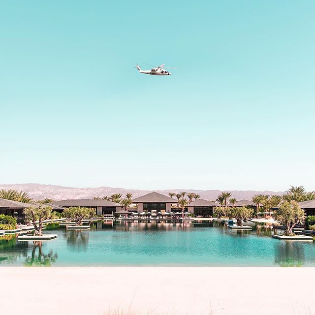 Did we mention that we have a new helicopter partner?? @iexhelicopters provides flights all over Southern California in one of their beautiful #sikorsky #helicopter. This one is flying over the one of a kind @zenyaraestate out in #Coachella #festival #onlythebest #vip #luxury #luxurylifestyle #bucketlist