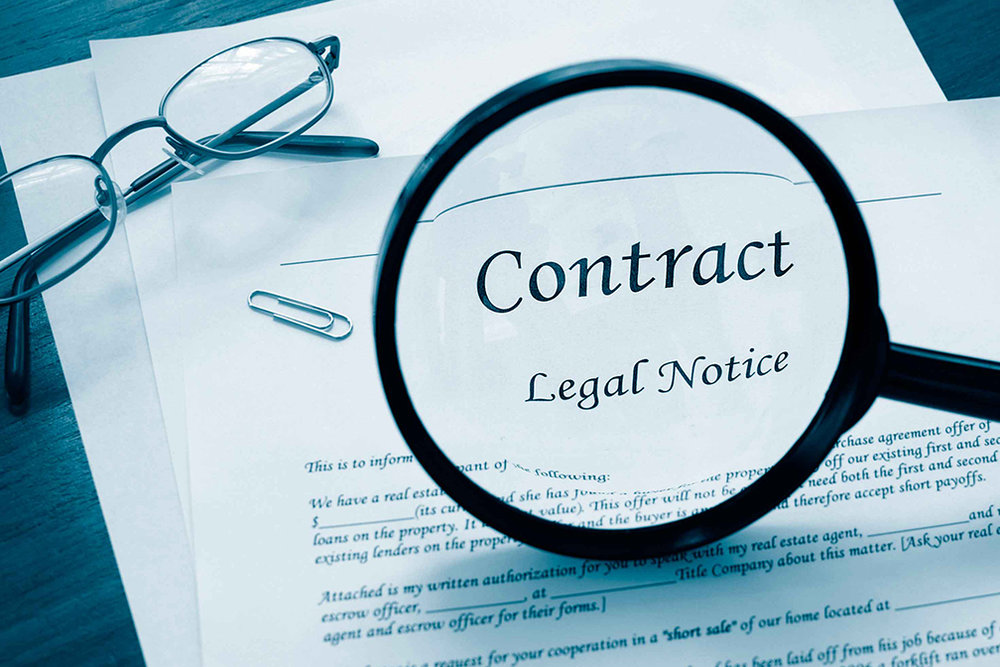 Barton Legal Group drafts and reviews contracts for business and other clients.