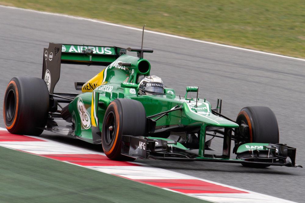 F1 driver Giedo van der Garde
