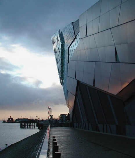 The Deep aquarium and submarium, in Hull, East Yorkshire