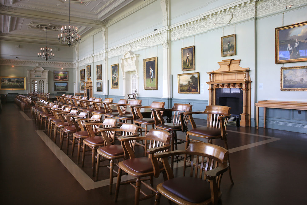 The iconic Long Room sits inside a Grade II listed building at the heart of cricket's grandest clubhouse and is a prime example of the organisation's heritage. The Long Room features many of the finest paintings in MCC's impressive collection