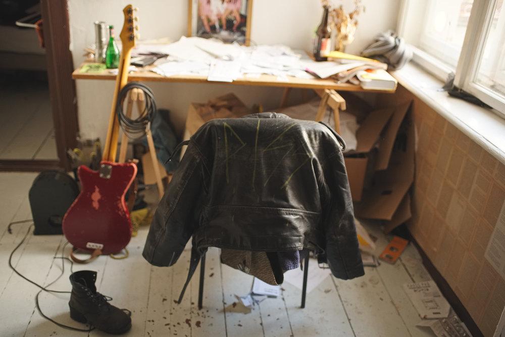 Martina's Piss jacket