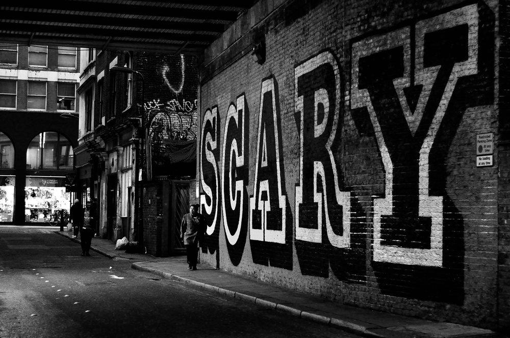 Scary  , London, 2013