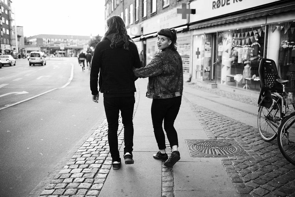 Myre and Anika  , Copenhagen, 2016