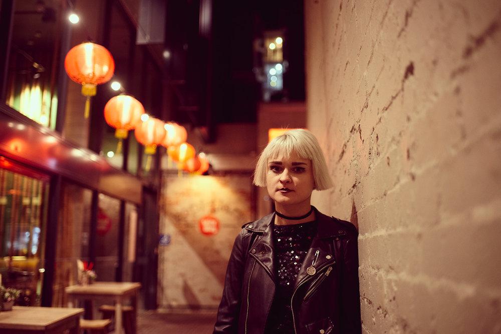 Patrycja, vocalist of Belgrado, Sydney, 2016