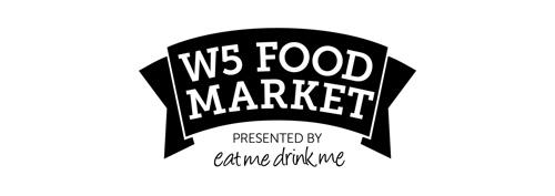 W5 Food Market Logos