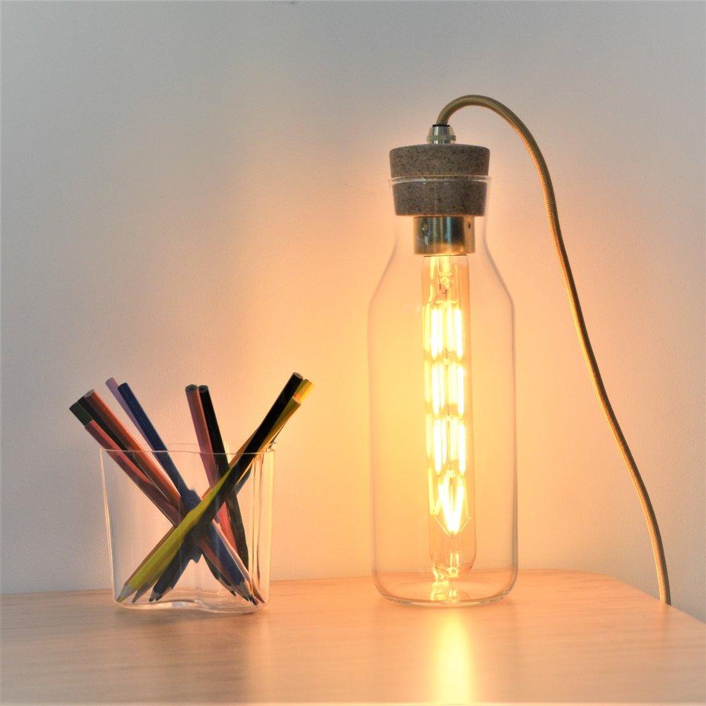 Light Fixation Glass Bottle Table Light 1.jpg