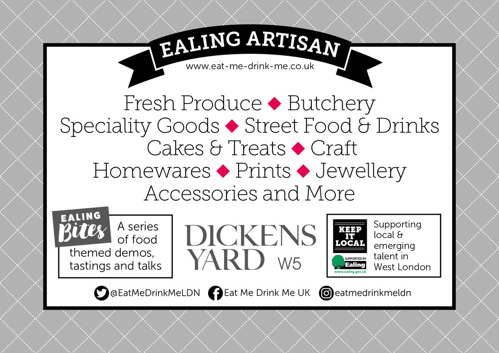 Ealing Artisan - Fresh produce, butchery, speciality goods, street food, cakes & treats, craft, homewares, prints, jewellery, accessories and more