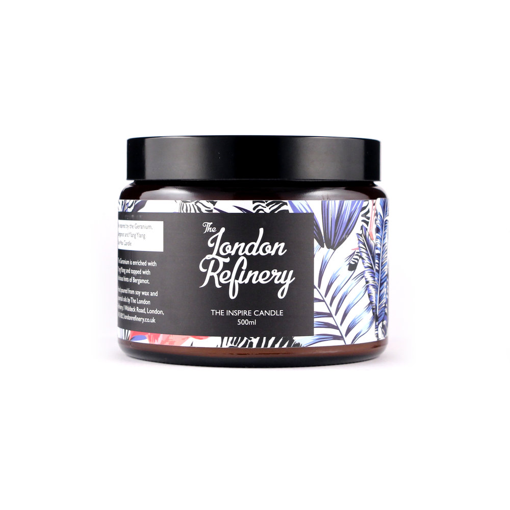 The London Refinery - Candle - Inspire -500ml.jpg