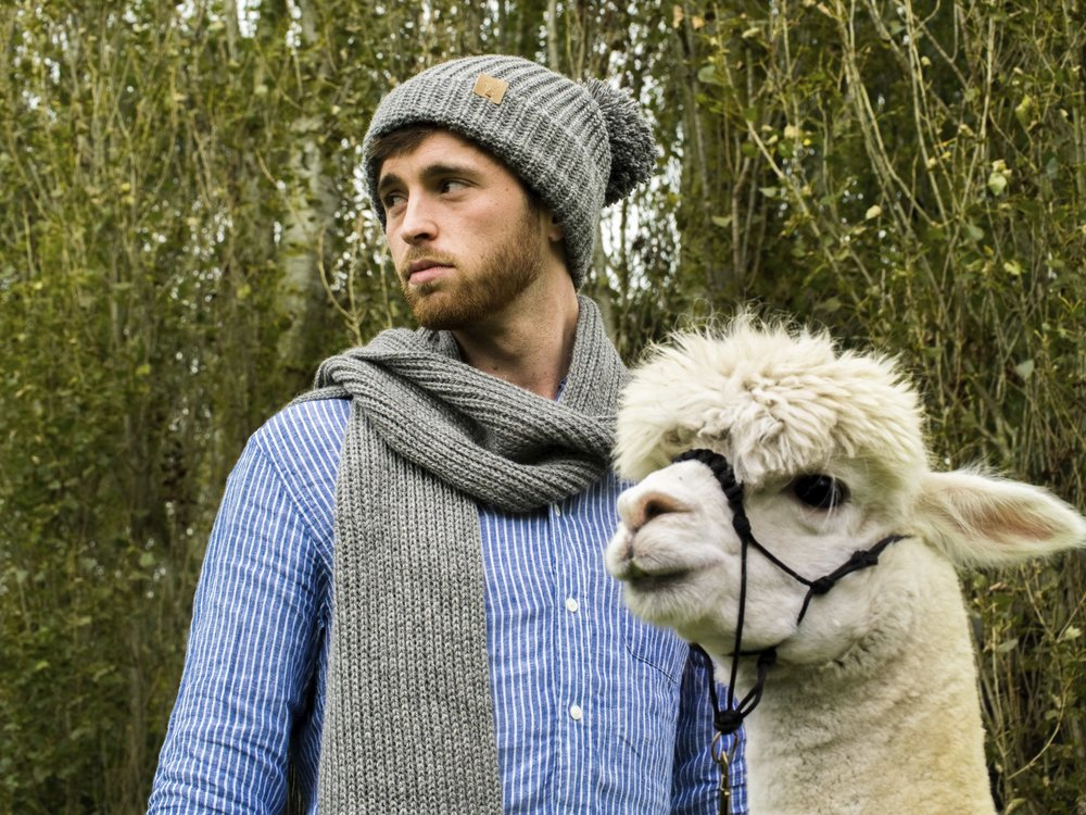 Stay warm with knitwear from  Ted & Bessie