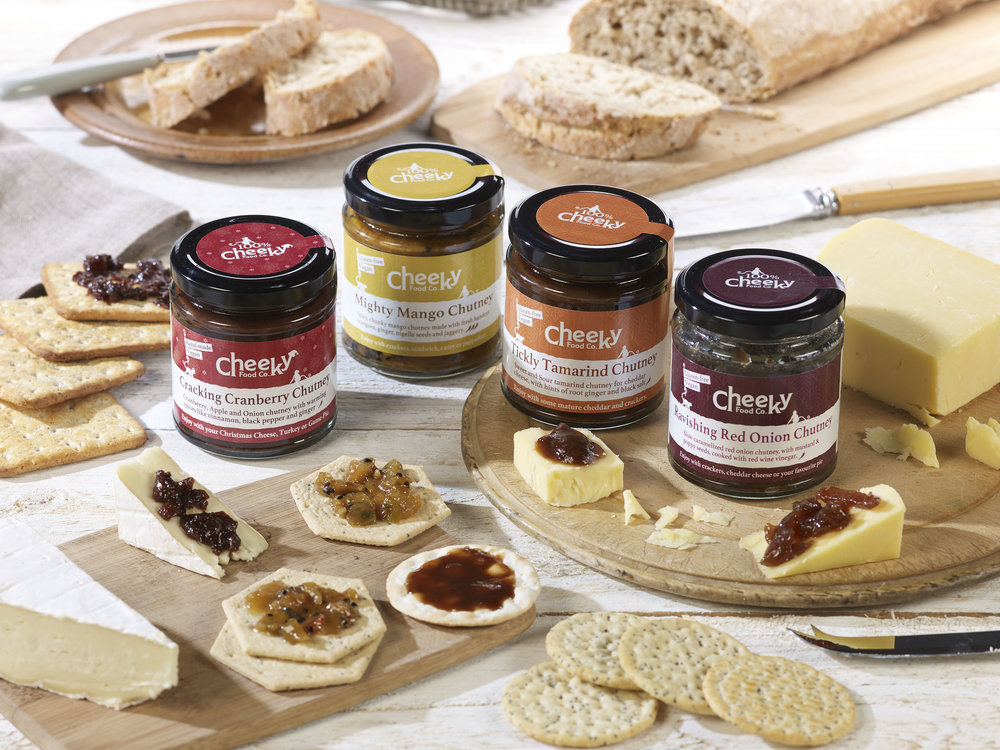 - Cheeky Food Co.15th December.Handmade, Vegan, Gluten-Free sprinkles, chutneys and Indian pickles.Delicious additions to finger food dipping bowls.