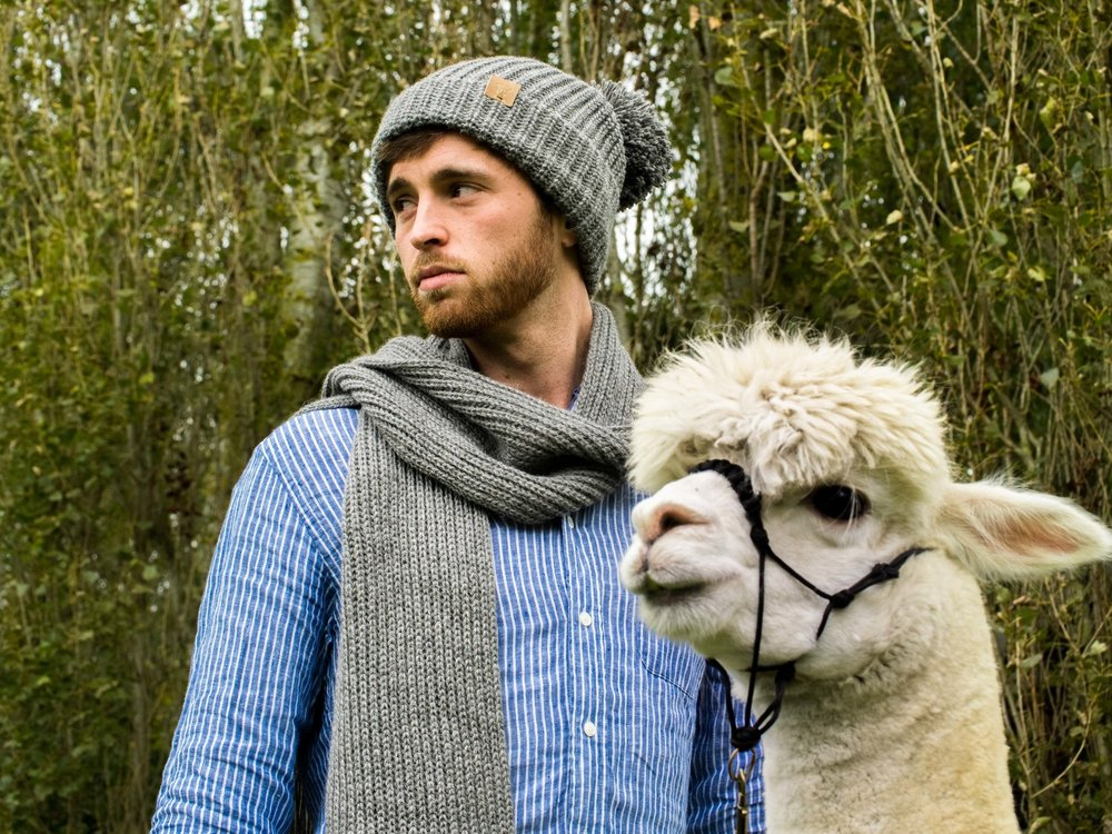- Ted & Bessie15th and 22nd DecemberLuxuriously soft, ethical & sustainable knitted & woven goods.Made with fleece from their herd of UK bred alpacas.