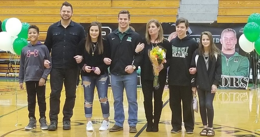 Photo from Roswell High School Wrestling Senior Night January 2018.   https://www.gofundme.com/mackenzie-kind-anderson-memorial-mission