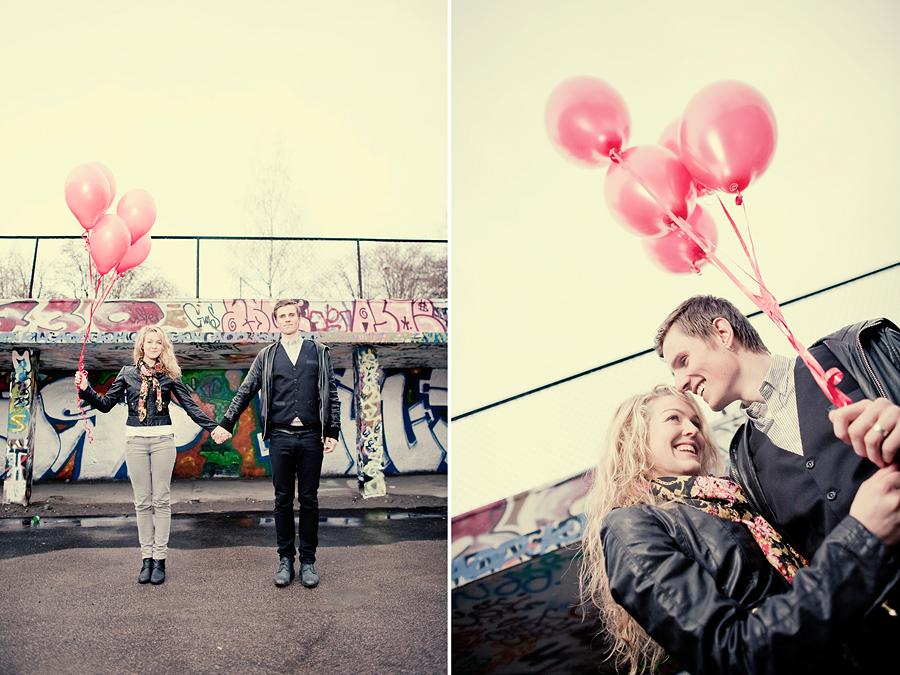 portrettfoto heliumballonger