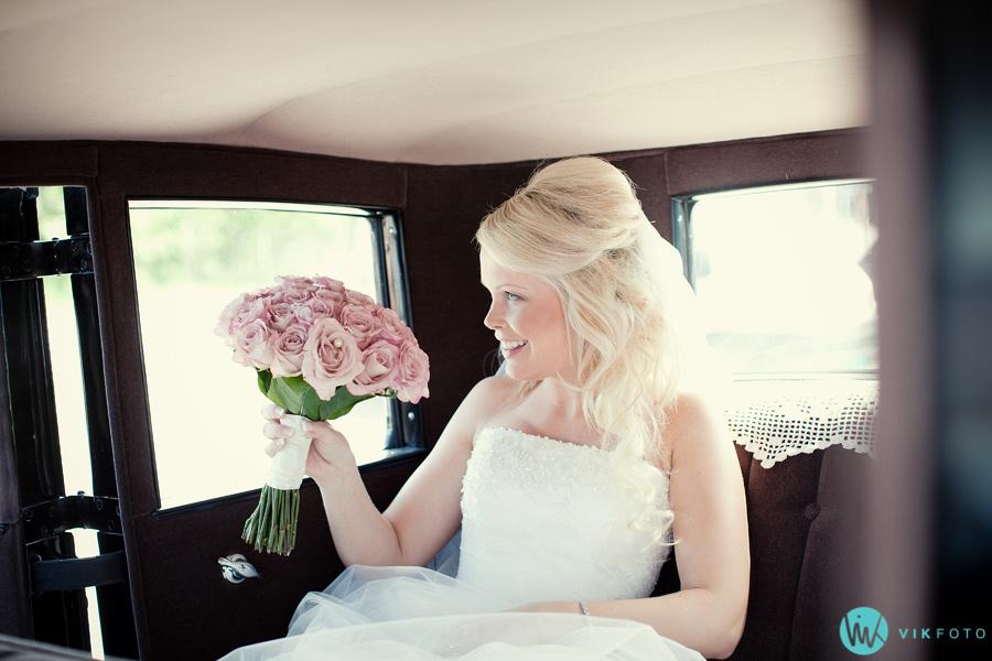 13 brud bryllup veteranbil