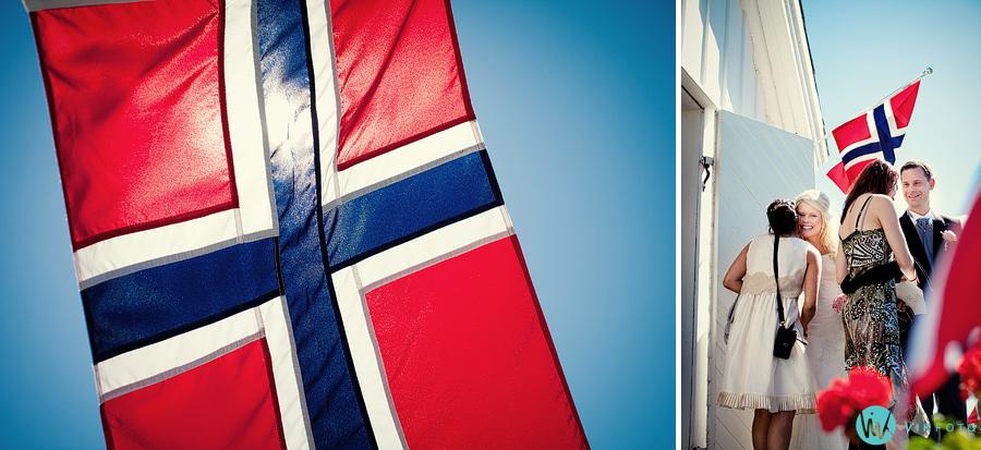 27 norske flagg vielse kirke
