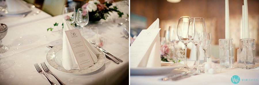 41 bryllup fest pynt bord