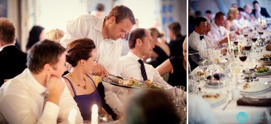 44 kringler middag gjester bryllup