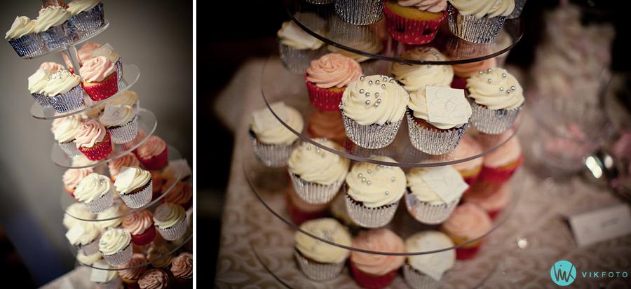 49 bryllup muffin cupcake kake