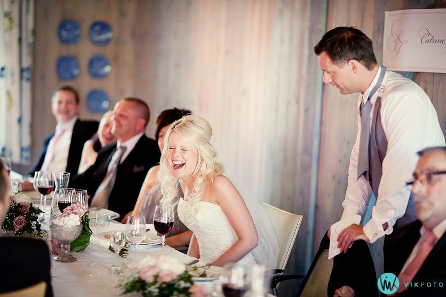 59 tale middag bryllup brudgom brudepar