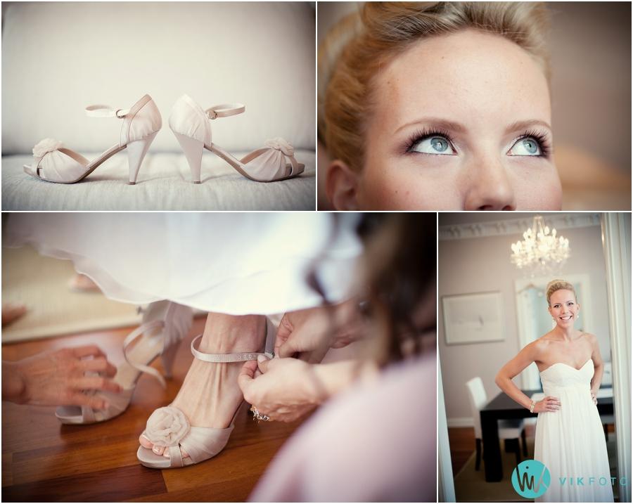 14 brud detaljer bryllup sko heldagsfotografering