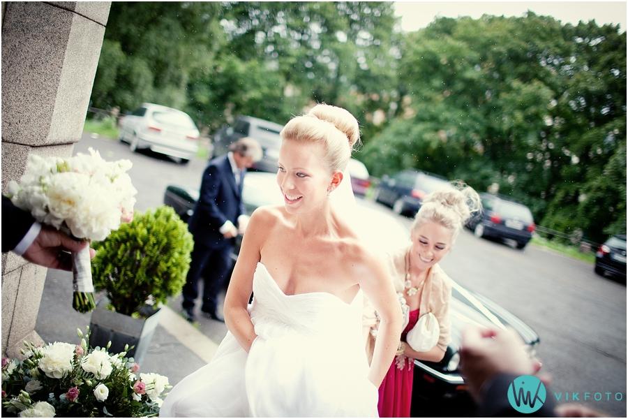 18 brud bryllup fagerborg kirke fotograf vielse