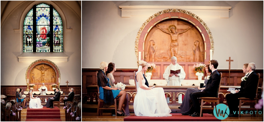 22 fagerborg kirke oslo bryllup vielse seremoni
