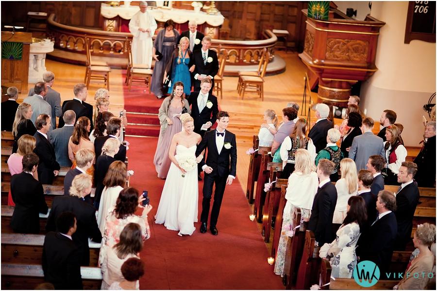 26 bryllupsfotograf oslo vielse fagerborg kirke brudepar