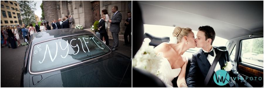 29 nygift brudebil jaguar fotograf oslo