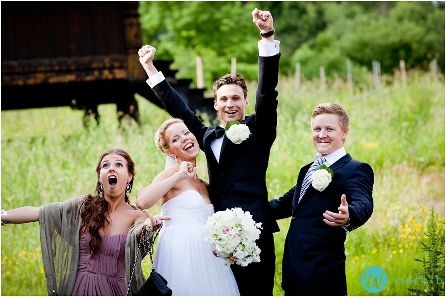 40 bryllupsbilde forlovere brudepar frognerseteren