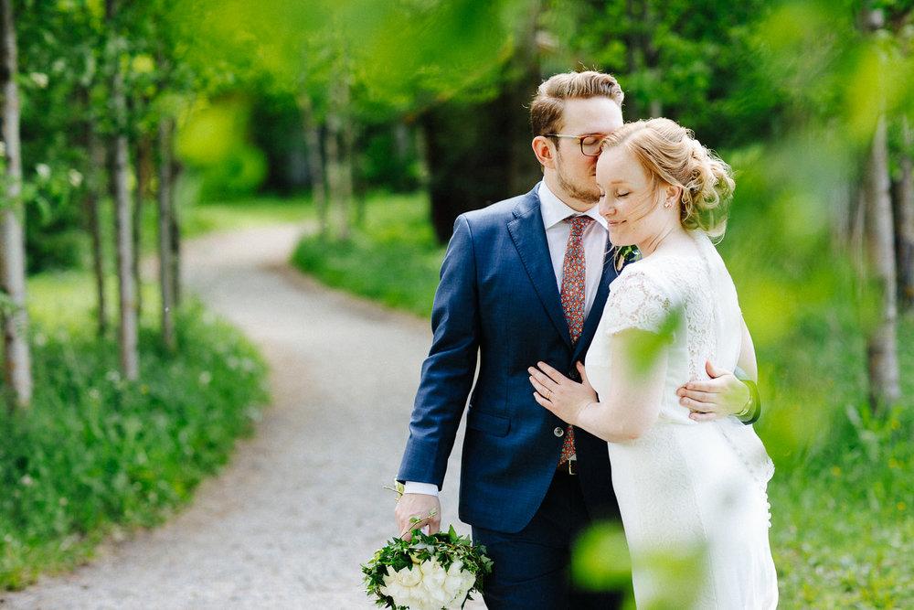 Bryllupsbilde i Sverige