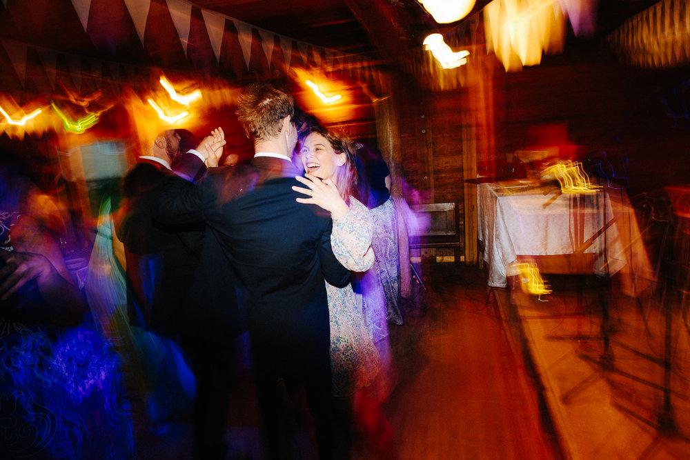Bryllupsfest og god stemning på dansegulvet