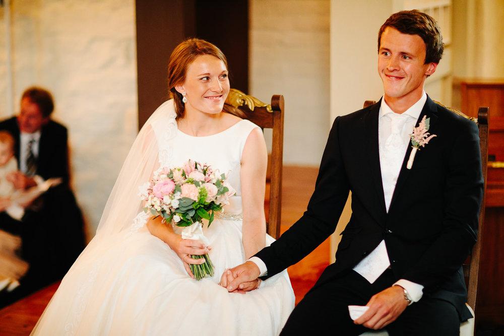 Vielse i Rokke kirke, bryllup i Halden