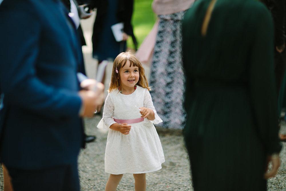 Brudepike i bryllup