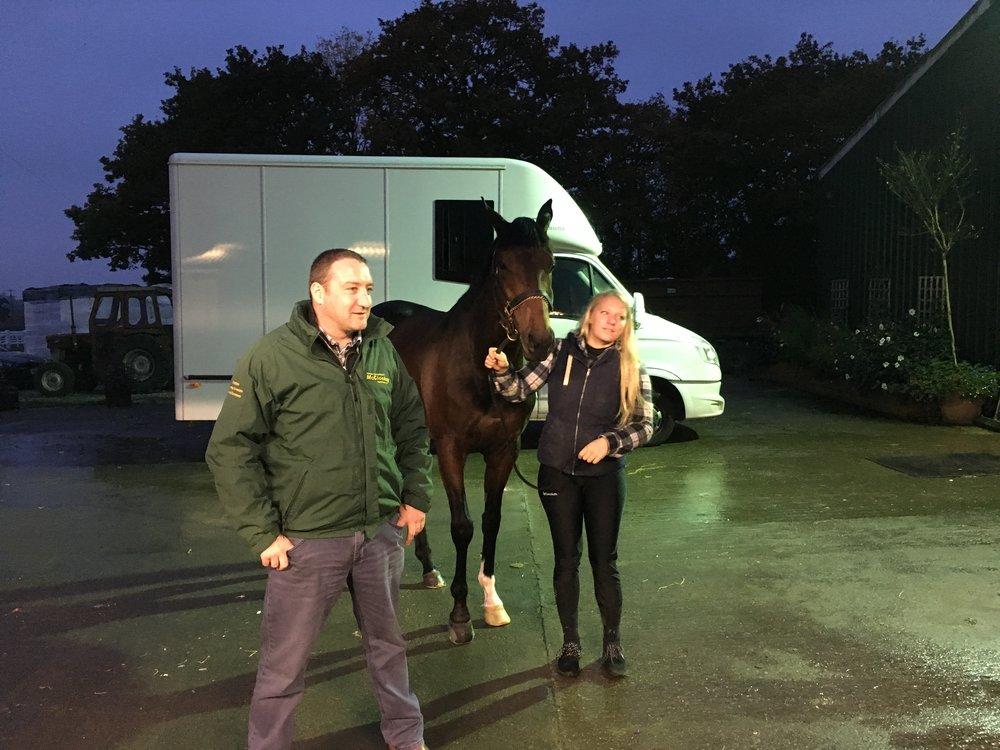 Argus with owner Noel McCloskey