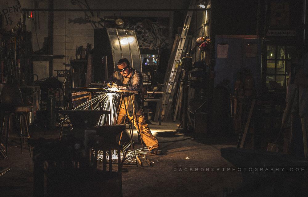 The Metalworking exhibit