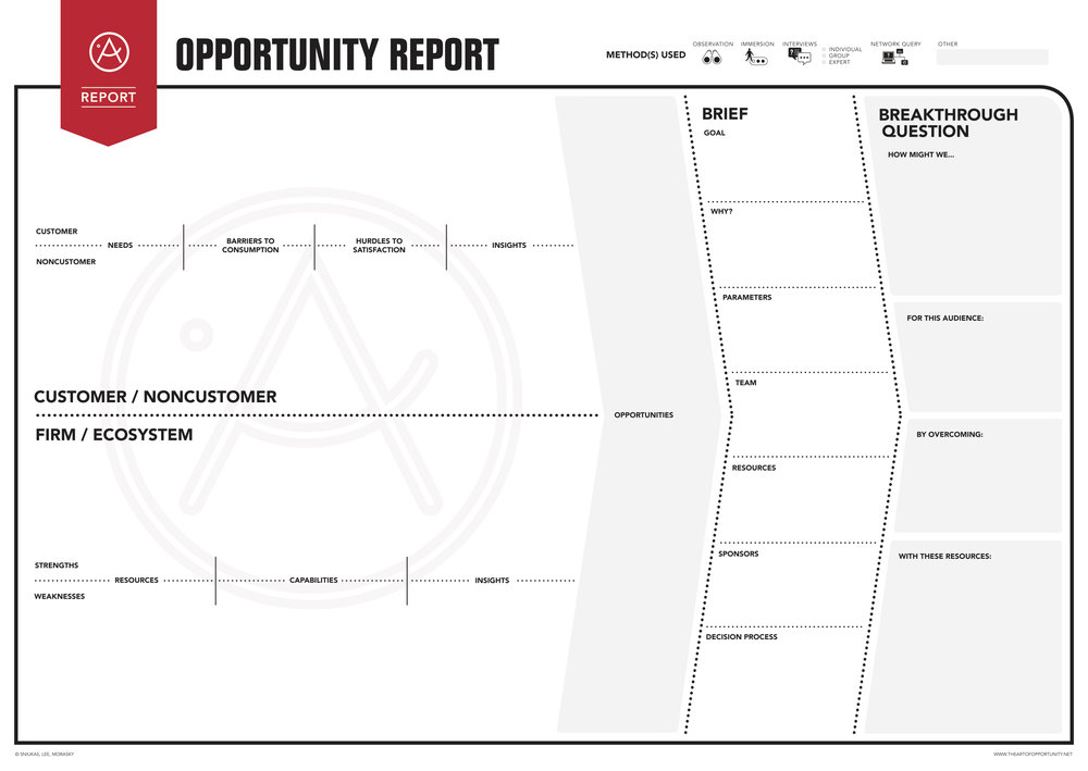 The Opportunity Report