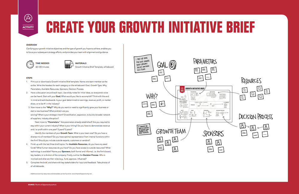 Activity: Create Your Growth Initiative Brief