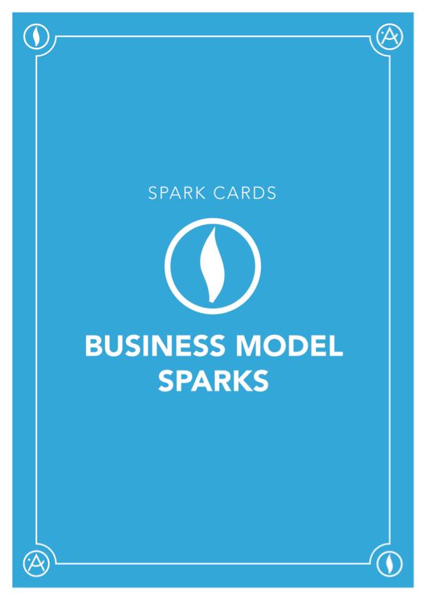 Card Deck: Business Model Sparks