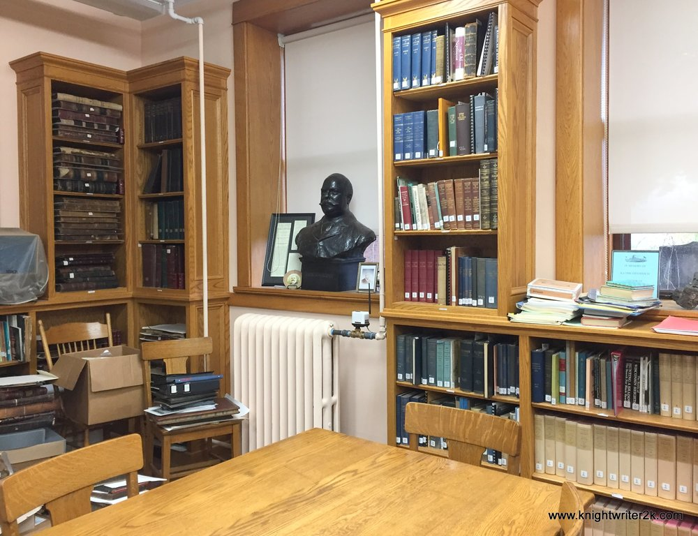 The Historical Collections room. Documents ahoy!