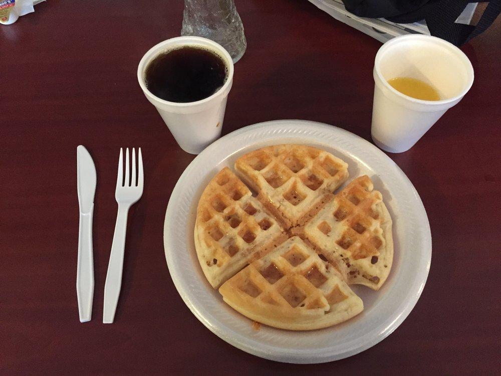 Mmmmm. Waffles.