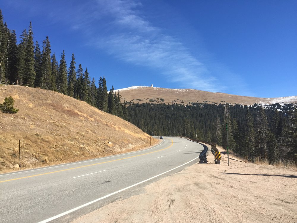 Route 40 on the way to Steamboat Springs, Colorado