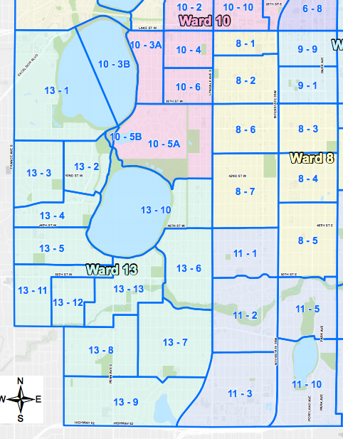 District 6 by Ward and Precinct