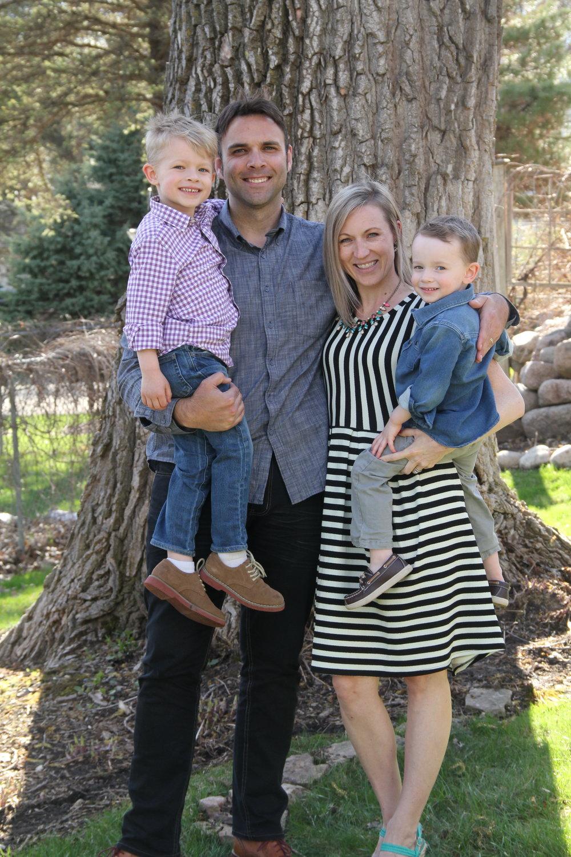 David, Mike, Sara & Daniel