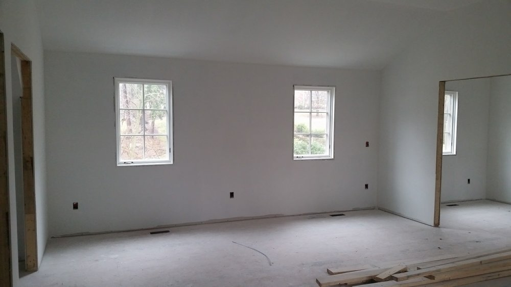 Kid's Wing | Drywall nearly complete