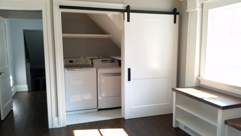 Laundry Closet | Complete - Appliances installed
